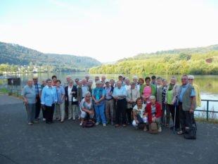 Senioren erlebten herrliche Ferientage in Brodenbach an der Mosel