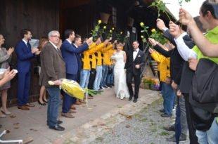 Ulrike Gutmann und Michael Harter sind ins Eheglück gestartet