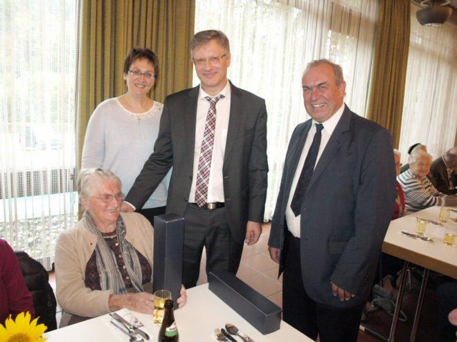 Senioren feierten in geselliger Runde