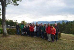 Lehrreiche Partnerschaftswanderung zur Feste Mutzig im Elsass