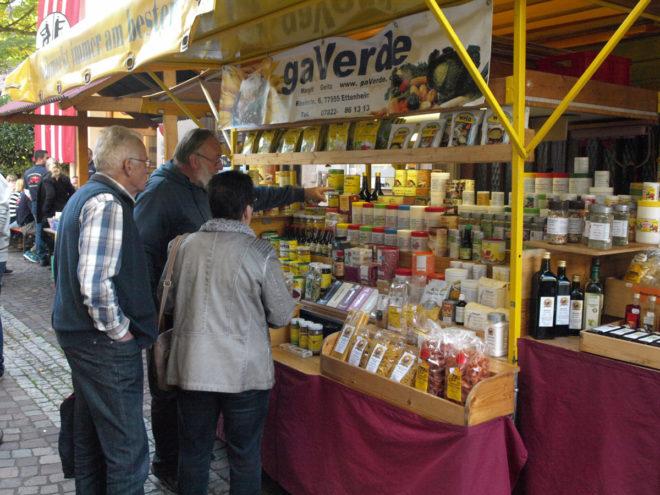 Schönes Herbstwetter lockte viele Besucher zum »Gallenmarkt«