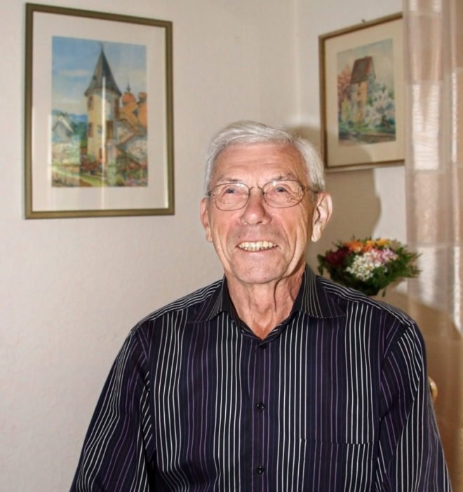 Karl Bussek feiert den 80. Geburtstag