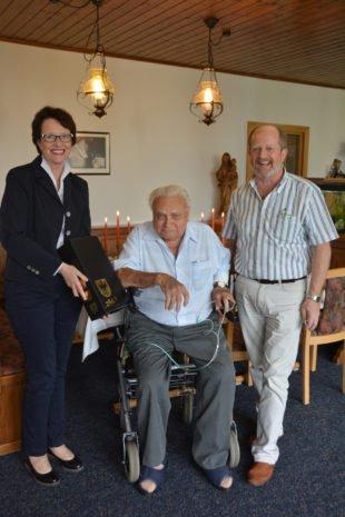Franz Zagermann feierte seinen 90. Geburtstag