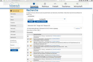 Rathausinformationssystem für die Gremienarbeit dient auch dem Bürger