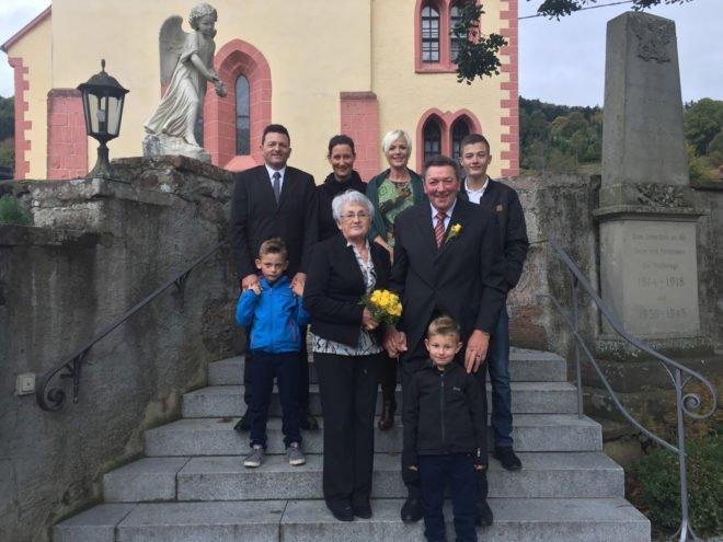 Elfriede und Alois Wussler feierten das Fest der goldenen Hochzeit