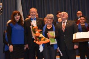 Ehrungen für jahrzehntelanges Engagement im Zeller Gesangverein