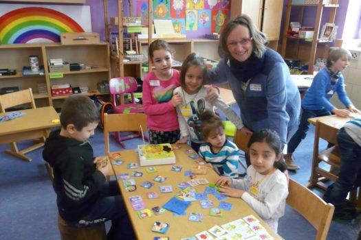 Förderung des Zusammenlebens  mit Flüchtlingskindern