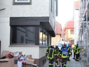 Zeller Feuerwehr musste am gestrigen Dienstag zweimal ausrücken