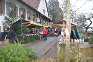 Kleiner und feiner Weihnachtsmarkt