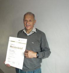 Goldener Meisterbrief für Walter Kasper