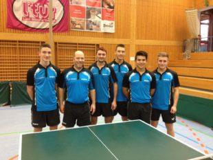 DJK Landesliga-Herren zur Halbzeit auf dem glänzenden zweiten Platz
