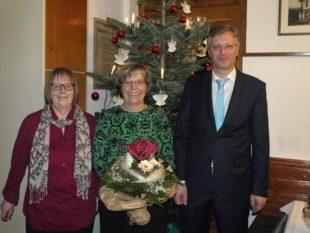 Elisabeth Gutmann feiert 40-jähriges Jubiläum im »Schwarzwälder Hof«