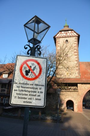 Kein Feuerwerk in der Zeller Altstadt
