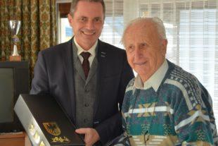 Ludwig Baumann feierte gestern  seinen 85. Geburtstag