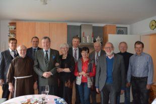Große Gratulationscour für Herbert Schippers