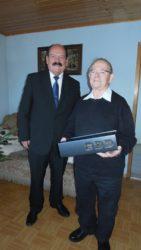 Karl Baumann feierte am  Neujahrstag 85. Geburtstag