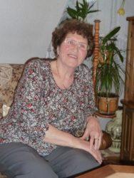 Brunhilde Große feiert  ihren 80. Geburtstag