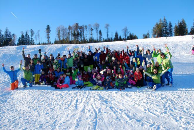 Viel Sonne und viel Schnee: Teilnehmer erlebten traumhaftes Winterevent