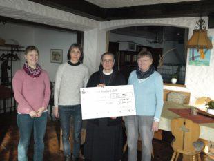 Kirchenchor Hofstetten unterstützt das Hospiz »Haus Maria Frieden«