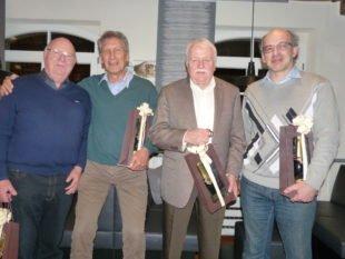 Zeller Tennisclub ehrte fünf  langjährige Mitglieder