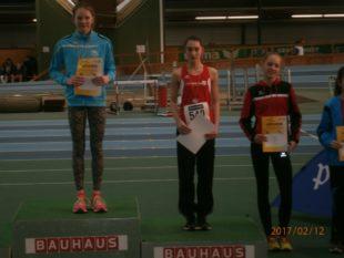 Platz 3 für Nora Wälde