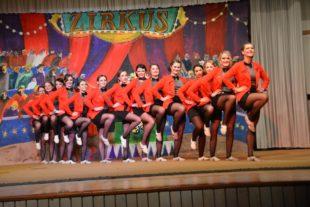 Freche Clowns, dressierte Männer und fliegende Akrobaten