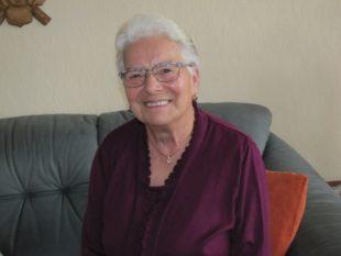 Klara Braun feiert am Fasendmontag 80. Geburtstag