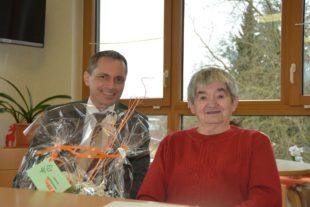 Gertrud Anna Wittighofer feierte 85. Geburtstag