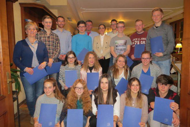 Aktiver Verein mit hervorragender Jugendarbeit