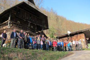 Frühlingstour über den Katzenstein mit reger Beteiligung