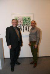 Arthus präsentiert den Dialog zweier Künstler