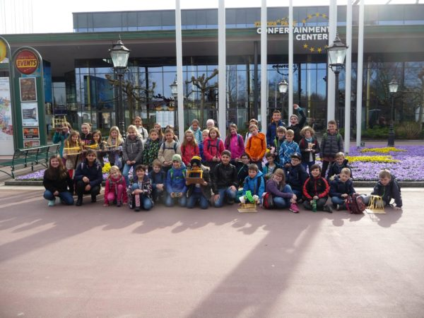 Grundschüler zu Besuch im Europapark Rust