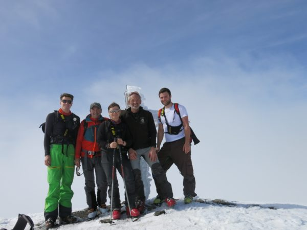 Erfolgreiche Skitour