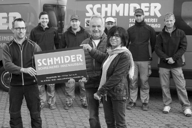 Generationswechsel bei der Schreinerei Schmider in Zell-Unterharmersbach