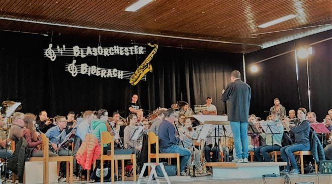 Jahreskonzert des Blasorchesters Biberach