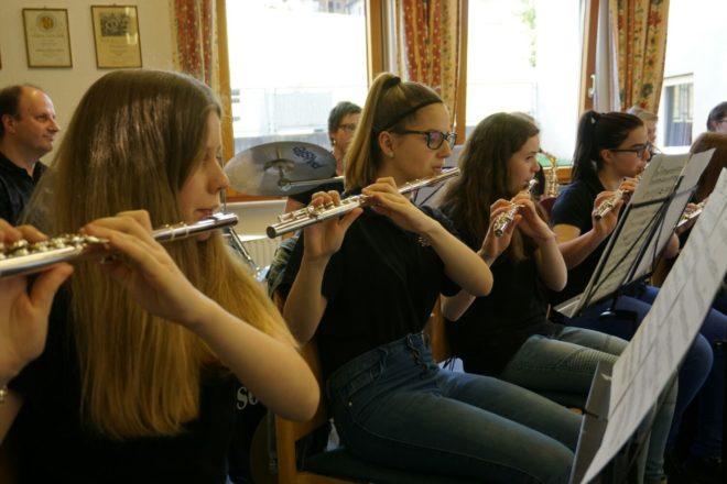 Nachwuchsmusiker zeigten ihren Ausbildungsstand auf