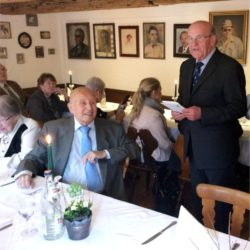 Ehrenringträger Wolfgang Knispel feierte seinen 95. Geburtstag