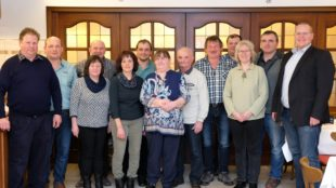 Bürgermeister Carsten Erhardt wünscht  »weiterhin eine glückliche Hand«