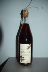 Ein Flasche Apfelsecco für die ersten zehn Mitglieder