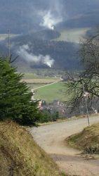 Rauchsäulen im Wald – muss das sein?