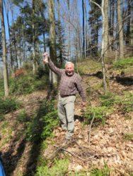 Wanderung mit Osterüberraschungen