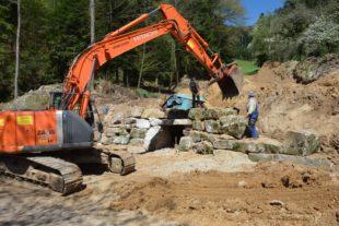100.000-Liter-Tank für Löschwasser-Versorgung