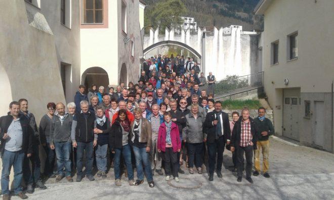 BDM-Ausflug ins blühende Südtirol