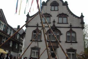 Maibaumstellen Oberharmersbach