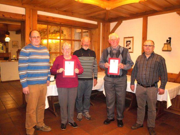 Wegwart Ewald Laifer wurde zum Ehrenmitglied ernannt