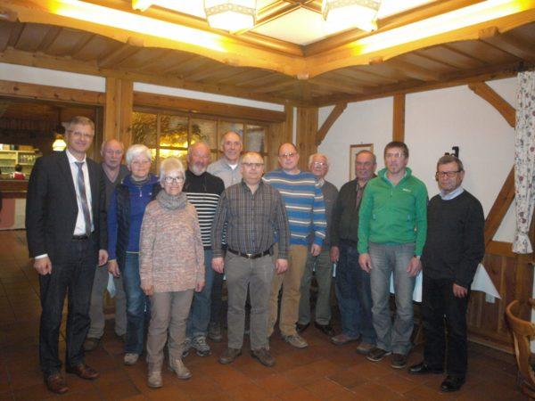 Vertrauensbeweis für die bewährte Führung des Schwarzwaldvereins