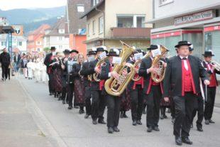 Musikverein im traditionellen Einsatz