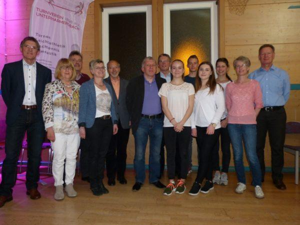 Verschlankte Führungsstruktur und neue Jugendvertretung beim TV Unterharmersbach
