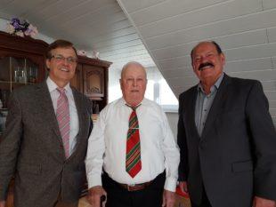 Andreas Lutz feierte 90. Geburtstag