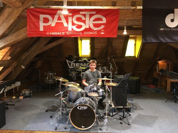 Mit dem Schlagzeug zum Bundeswettbewerb